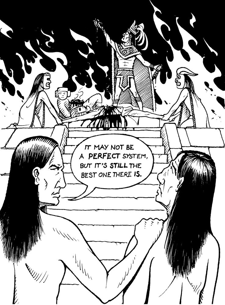 aztec worldview essay