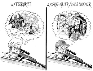 Terrorists vs Spree Killers wo title