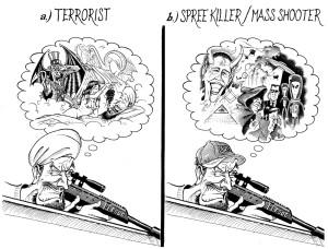 Terrorists vs Spree Killers wo title