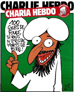 Charlie Hebdo, 2 November 2015. Cover by Luz.